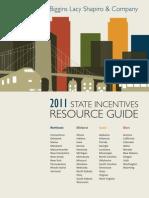Biggins Lacy Shapiro & Co. Economic Development Incentives Guide 2011