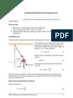 Visualisasi Bandul Matematis Dengan Microsoft Excel