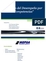Evaluación del Desempeño_Metalurgica Peruana