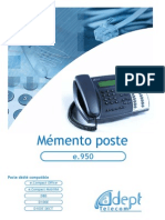 Postes E950-E930