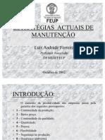 Acetatos Jornadas de Manutenç¦o APMI
