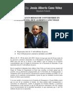 09-06-11-Carreteras en Riesgo de Convertirse en Subejercicios