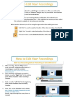 How to Edit Your Recording
