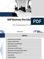 SAP B1 Certification