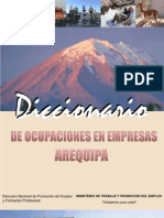 Arequipa Diccionario Final