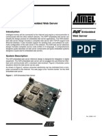 Atmel - Avr Embedded Web Server (Microcontroller With Tcp-ip)