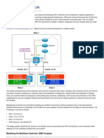 Inter-VRF Routing With VRF Lite