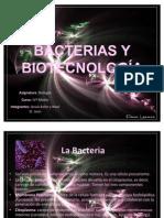 Bacterias y Biotecnología