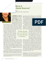 Diversity Journal | Are We In A Post-Racial America? - May/June 2011
