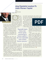 Diversity Journal   Creating Equitable Leaders To Maximize Human Capital - May/June 2011