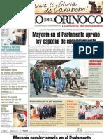 Correo del Orinoco Viernes 10 de junio de 2011