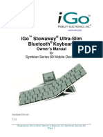 Stowaway Ultra-Slim for S60 9.0 Owner Manual_US