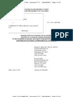 Parisi v Sinclair Reconsideration Motion