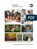 Alameda County 2011-12 Proposed Budget - Citizen Guide