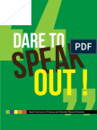 Dare to Speak Out!
