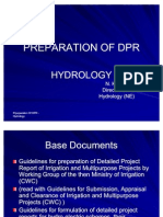 Preparation of Dpr_hydrology