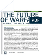 The Future of Warfare & Impact of Space Operations