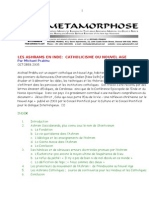 Catholic Ashrams_summary in French
