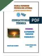 conductividad termica (informe 9)