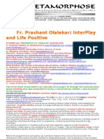 Fr Prashant Olalekar Interplay and Life Positive