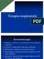 Terapia respiratorie