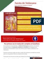 El Mahabharata de Vedavyasa Primera Traduccion Completa Al Espanol Editorial Hastinapura