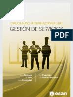 Diplomado Internacional en Gestion de Servicios