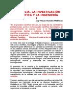 Lectura La Ciencia La I.C. y La Ing.