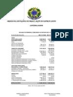 Prestação de Contas 28 - Outubro 2010