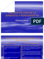 Histopatologia de La Gingivitis y Periodontitis