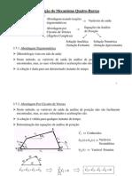 MECANISMOS Aula05 - Quatro-Barras (posição) [Modo de Compatibilidade]
