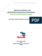 A Recovery Plan for Haitian Families - GOH & IHRC