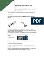 Diferentes Tipos de Cables y Conectores Que Suele Utilizar Un Pc
