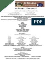 Wedding Buffet Package i