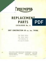 Triumph Parts 1968
