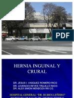 16.- Hernia Inguinal y Crural