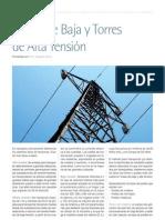 Postes de Alta-Media y Baja Tensión (Prof. Edgardo Faletti)