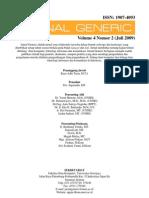 Jurnal Generic Vol 4 No 2 Juli 2009