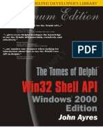 Delphi Win32 Shell API