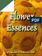 Flower Essences Pegasus Products - Booklet