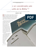 ¿El Pueblo de La Biblia?