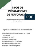 TIPOS DE INSTALACIONES