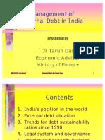 External Debt Management in India by Tarun Das
