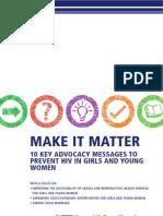 Make It Matter HIV Prevention for Girls