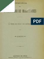 Memoria Del Gobernador de Magallanes (1896)