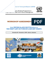UNITAR Indonesia Public Debt Workshop Report