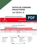 Cooperativa de Consumo Proactividad Guadalajara