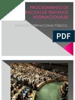 Procedimiento de Celebracion de Tratados Internacionales