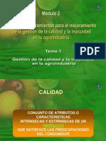 Agroindustria Garantia Alimentaria Inocuidad y Calidad