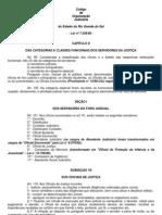 Codigo de Organizacao Judiciaria Nocoes Gerais de Organizacao Judiciaria